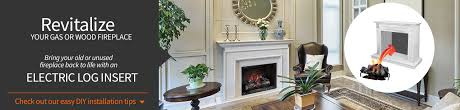 Electric Fireplace Insert Installation by Electric Fireplace Inserts And Log Sets
