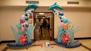 the sea decorations the sea theme balloon decorations balloon arts