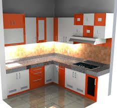 Kitchen Set Minimalis Putih Dapur Minimalis Dengan Kitchen Set Merah Dan Putih Referensi Rumah