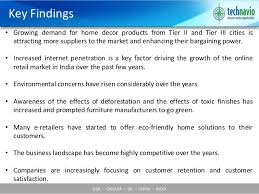 online home decor market in india 2015 2019