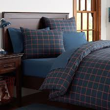 Boys Duvet Covers Twin Boxter Plaid Duvet Cover Sham Pbteen