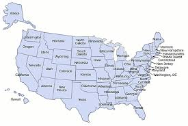 usa states map rhode island united states usage and 2017 population state by state