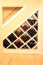 wine racks under stairs 2017 also basement remodel idea great use