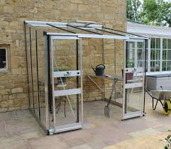 6ft X 8ft Greenhouse Eden Broadway 8ft X 6ft Lean To Greenhouse With Aluminium Frame
