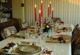 holiday table setting centerpiece ideas for christmas dinner