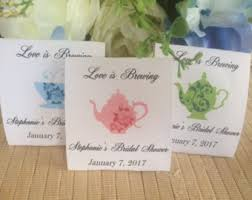 bridal tea party favors bridal shower favors etsy