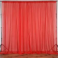voile backdrop 10x10 ft curtain photo booth background wedding