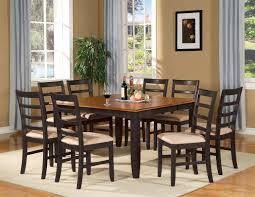 nice dining room table and chair sets on dark wood dining table