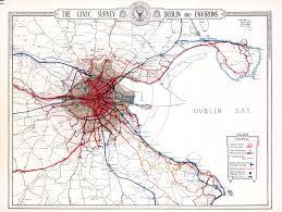 Map Of Dublin Ireland File Dublin 1922 23 Map Suburbs Maturetrams Wfarestimes Trains