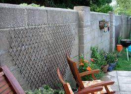 exterior render garden wall plastering job in whitstable kent