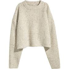 white wool sweater h m chunky knit wool sweater 29 99 96 pen liked on polyvore
