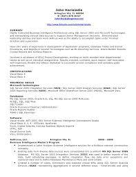 Sample Resume For Sql Developer by Pl Sql Developer Resume Resume Templates
