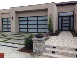 modern contemporary doors modern garage doors tungsten royce