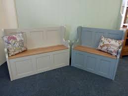Storage Bench Seat Bench Interior Low Storage Bench White Seat Settee Singular