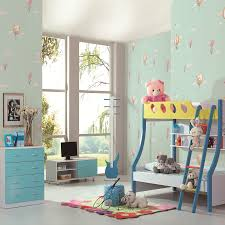 online shop light blue angel child bedroom wallpaper child cartoon