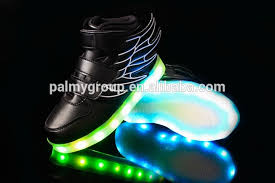shoes with lights on the bottom fashion cute children sneakers children shoes with flashing