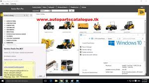 jcb service parts pro jcb spp 2015 youtube