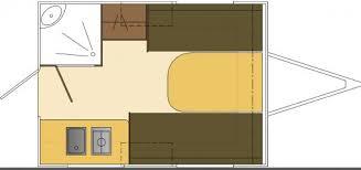 Caravan Floor Plans Pino Caravan The Small Trailer Enthusiast
