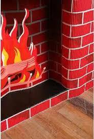 cardboard fireplace cakehead evil