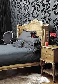 the french bedroom company black beauty from inky wallpaper to skulls on furniture v it up