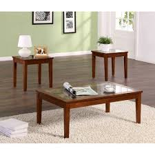 Walmart End Tables And Coffee Tables Dorel Living Faux Marble 3 Piece Coffee U0026 End Tables Value Bundle