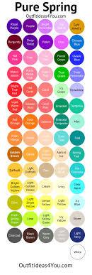 spring color 513 best spring color type images on pinterest color palettes