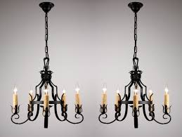 Simple Wrought Iron Chandelier Wrought Iron Chandelier Design Decor Intended For Modern Residence