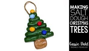 salt dough tree ornaments dahl teaching