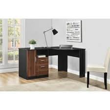 Black Corner Desk With Drawers Corner Desks Home Office Furniture Store Shop The Best Deals For