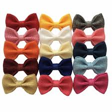 fabric bows 3 burlap fabric bows without fashion hair bow bows for