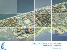 tamucc map cus master plan a m corpus christi