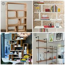 cool living room shelving ideas with additional interior designing