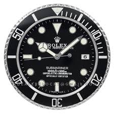rolex submariner wall clock rx201 u2013 dealer clocks