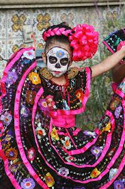 Dia De Los Muertos Costumes El Día De Los Muertos Calle Olvera Los Angeles All Things