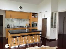 contemporary high gloss paint for kitchen cabinets vanillawood