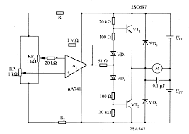 circuits u003e motor time division control circuit composed of