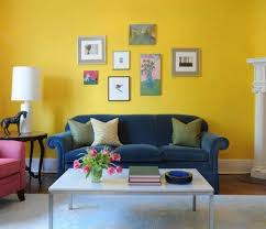 yellow living room color ideas with wall arts dazzling yellow