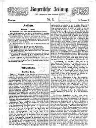 Dr Gutberlet Bad Homburg Bayerische Zeitung 1866 Bayerische Staatsbibliothek