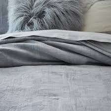 Grey Matelasse Coverlet Organic Texture Matelasse Coverlet Shams Platinum West Elm