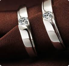rings love couple images Promise love couple rings 925 sterling silver rings wedding rings jpg