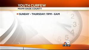 miami police to begin enforcing curfew for juveniles nbc 6 south