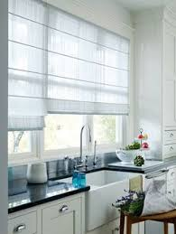 Kitchen Window Blinds And Shades - sheer horizontal kitchen shades for wide windows blinds