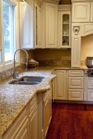 kitchen cabinet blue backsplash tile white kitchen countertops