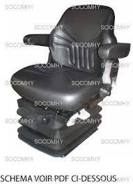 siege grammer siège grammer maximo pour tracteur avec pvc
