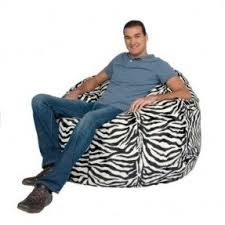 Bing Bag Chair Zebra Print Bean Bag Chair Foter