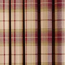 dorma plum bloomsbury check lined eyelet curtains dunelm