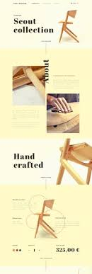 Chair Website Design Ideas Web Design Inspiration Layouts Products And Website
