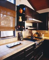 roman shades for kitchen green interior design eco friendly