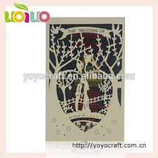 Bride To Groom Wedding Card China Wholesale Bride Groom Wedding Card Beautiful Design Marriage