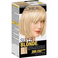best the counter platinum hair color l oreal creme lightening kit
